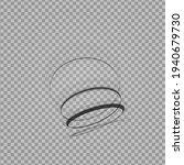abstract swirl shape. black...   Shutterstock .eps vector #1940679730