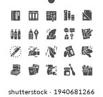 writing tools. notebooks.... | Shutterstock .eps vector #1940681266