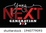 young next generation quote... | Shutterstock .eps vector #1940779093