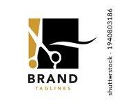 scissors logo symbol for salon...   Shutterstock .eps vector #1940803186
