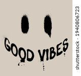 urban neon graffiti good vibes...   Shutterstock .eps vector #1940806723