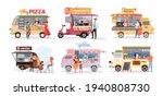 street market food truck ... | Shutterstock .eps vector #1940808730