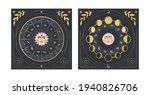 vector illustration of moon...   Shutterstock .eps vector #1940826706