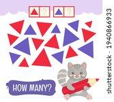 counting educational children... | Shutterstock .eps vector #1940866933