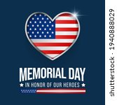 memorial day is observed each... | Shutterstock .eps vector #1940888029