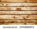 Grunge Wood Texture. Raw Brown...