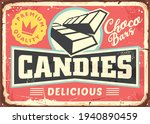 candies and chocolate bars... | Shutterstock .eps vector #1940890459