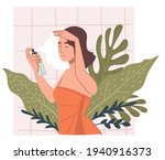female character caring for... | Shutterstock .eps vector #1940916373