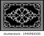 Floral Baroque Pattern For...