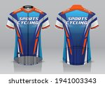 jersey design for cycling ... | Shutterstock .eps vector #1941003343