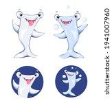 Illustration Of A Jolly Shark...