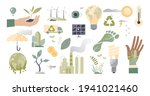 climate action and sustainable... | Shutterstock .eps vector #1941021460