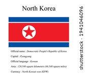 north korea national flag ...   Shutterstock .eps vector #1941046096