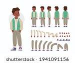 little boy character... | Shutterstock .eps vector #1941091156