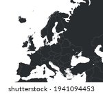 european map with country... | Shutterstock .eps vector #1941094453