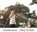 4 years old asian boy plays...   Shutterstock . vector #1941117520