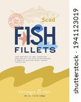 fish fillets abstract vector... | Shutterstock .eps vector #1941123019