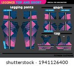 fitness pants top and short... | Shutterstock .eps vector #1941126400