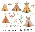 Teepee Tents And Arrows...