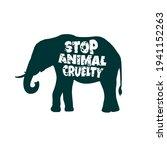stop animal cruelty abuse... | Shutterstock .eps vector #1941152263