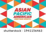 asian pacific american heritage ... | Shutterstock .eps vector #1941156463
