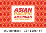 asian pacific american heritage ...   Shutterstock .eps vector #1941156469