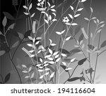 patterns of plant design | Shutterstock . vector #194116604