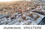Aerial View Of Sankt Petersburg ...