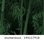 an image of bamboo forest | Shutterstock . vector #194117918