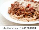 Mouthwatering Spaghetti...