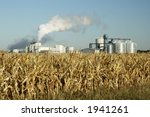 an ethanol production plant in... | Shutterstock . vector #1941261