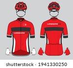 cycling team jersey biking...   Shutterstock .eps vector #1941330250
