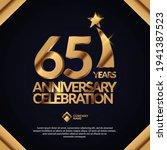 65 years anniversary... | Shutterstock .eps vector #1941387523