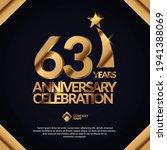 63 years anniversary... | Shutterstock .eps vector #1941388069