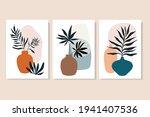 botanical abstract wall art... | Shutterstock .eps vector #1941407536