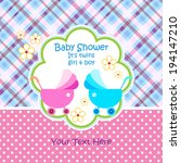 Baby Arrival Announcement Card...