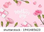 happy mothers day. calligraphic ... | Shutterstock .eps vector #1941485623