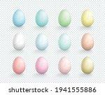 easter eggs vector element... | Shutterstock .eps vector #1941555886