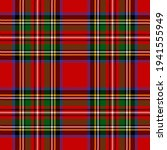 Seamless Royal Stewart Tartan...