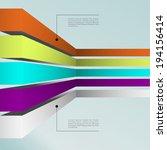 business infographics graph... | Shutterstock .eps vector #194156414