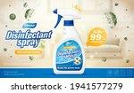 3d disinfectant spray ad... | Shutterstock .eps vector #1941577279
