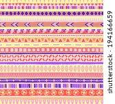 original drawing tribal doddle... | Shutterstock .eps vector #194166659