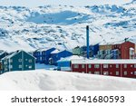 Ilulissat Is A Coastal Town In...