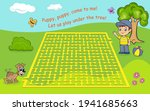 maze game for kids. help the...   Shutterstock .eps vector #1941685663
