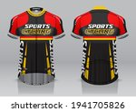 jersey design for cycling ... | Shutterstock .eps vector #1941705826
