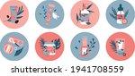icon set for beauty salon  spa. ... | Shutterstock .eps vector #1941708559