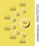 six steps vertical infographic... | Shutterstock .eps vector #1941715723