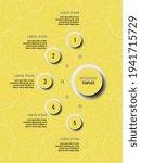 five steps vertical infographic ... | Shutterstock .eps vector #1941715729