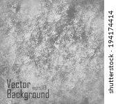 grunge vector seamless texture. ... | Shutterstock .eps vector #194174414