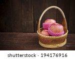 still life with apple  | Shutterstock . vector #194176916